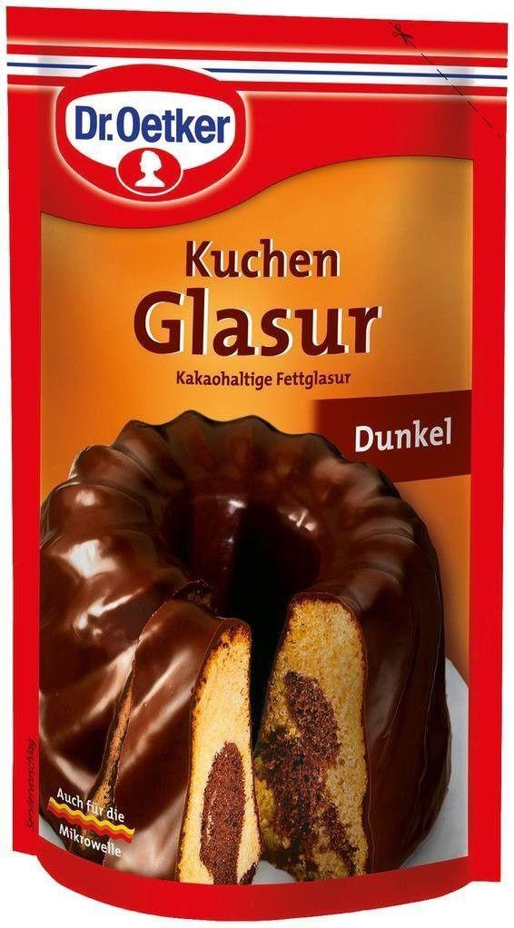 4 99 Dr Oetker Dunkel Kuchen Glasur 125g 4 4oz Dark Chocolate Icing Ebay Home Garden Chocolate Icing Food Kuchen