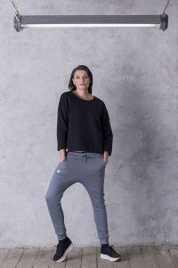 spodnie FRENCH PLUS grafit