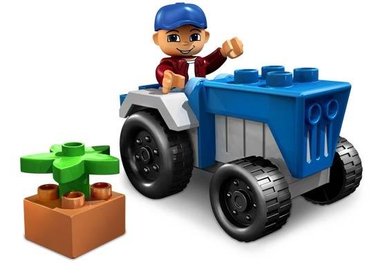 4969: Tractor Fun Duplo/LEGO Ville, 2006