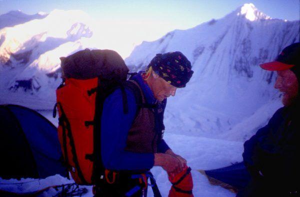 Anatoli Bukreev. A very experienced mountaineer