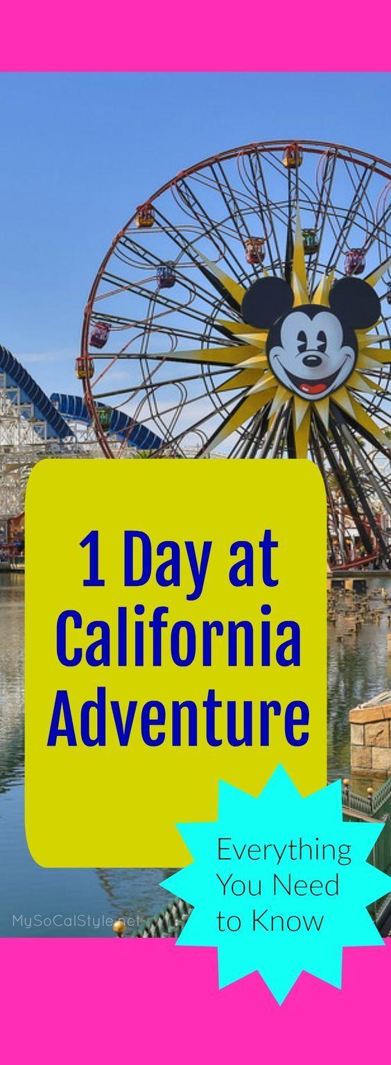 Die besten Strategien für Disneylands California Adventure Park! | #Disneyland | …