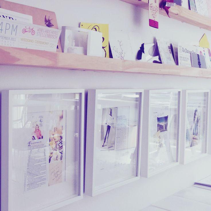 Inspiration at the Elsje Design studio. #design #inspiration #elsje designs #invitations #weddings