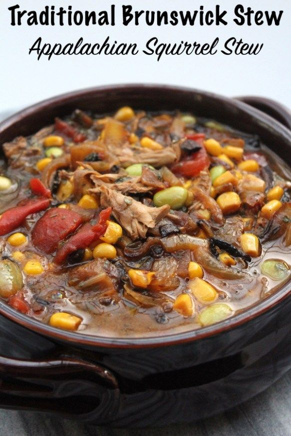 Traditional Brunswick Stew Recipe With Images Brunswick Stew