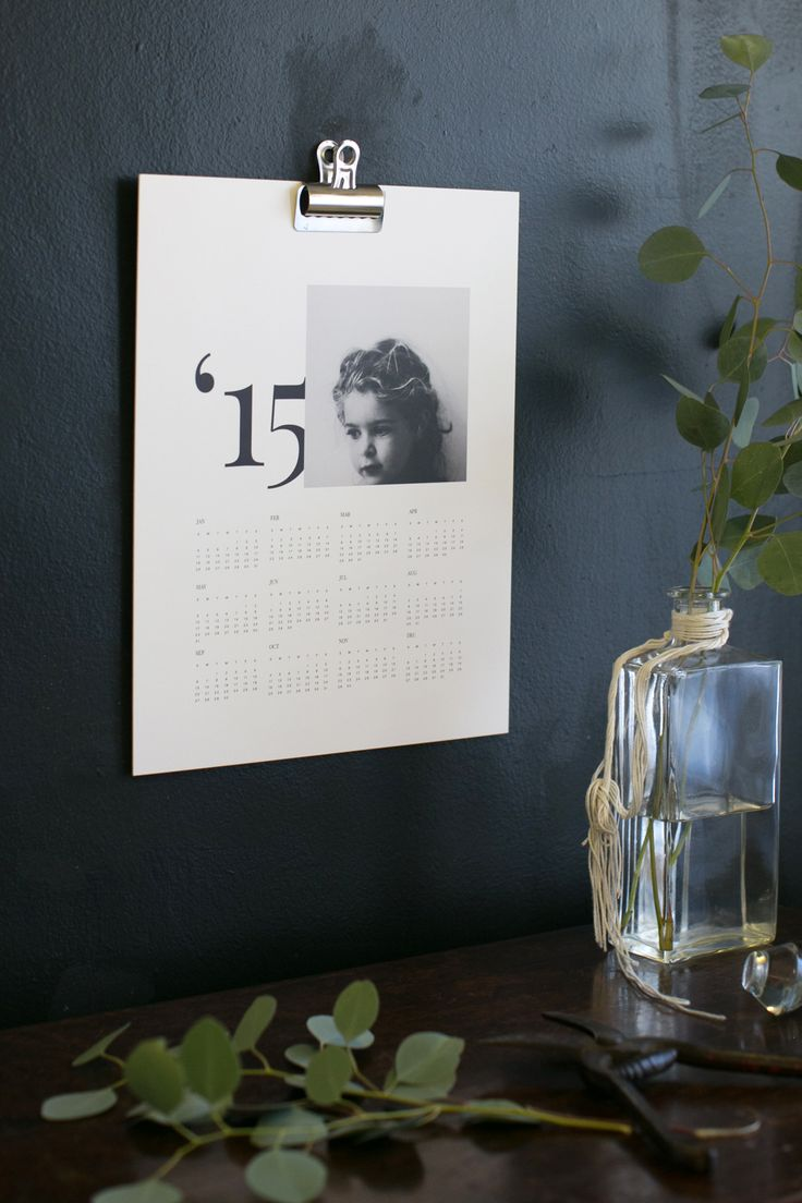 The gift that lasts all year | The Limited Edition  Artifact Uprising [Signature] Wall Calendar