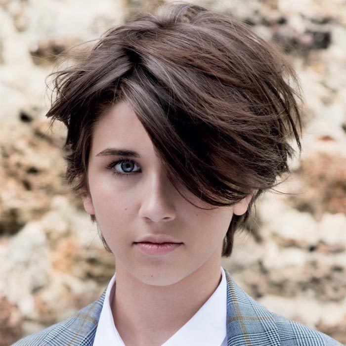 Coiffure cheveux courts - MOD's HAIR - Tendances automne-hiver 2015-2016   Cheveux courts ...
