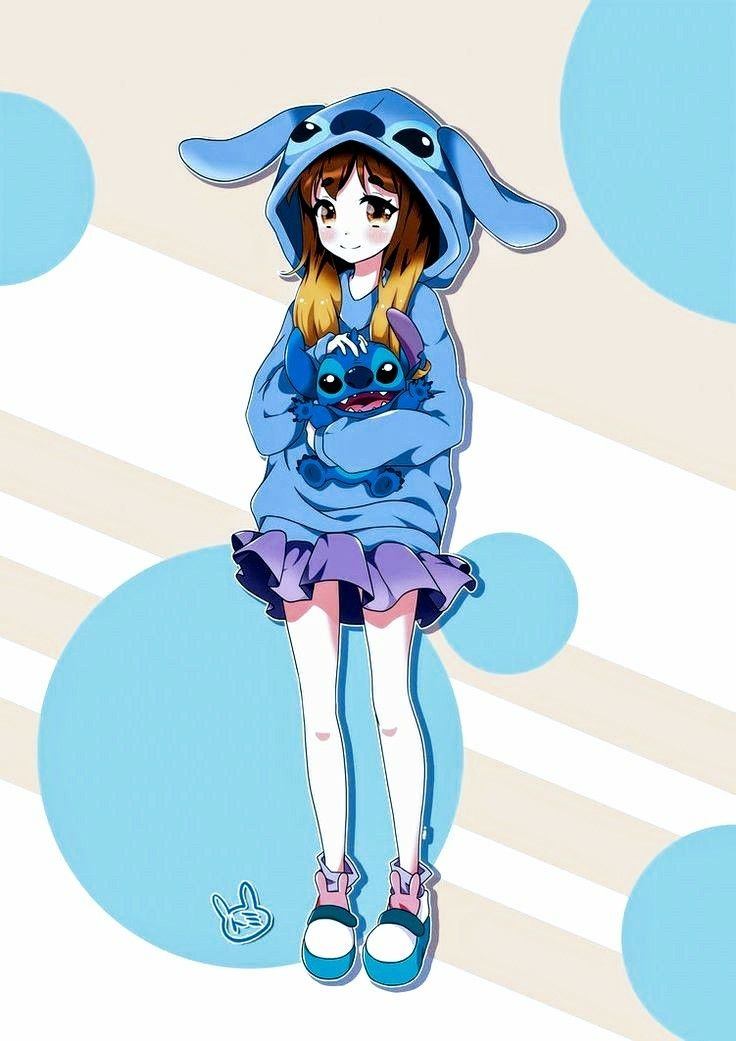 Girly Wallpapers For Iphone 6 I Do Not Own This Anime Stitch Drawing Lilo Stitch