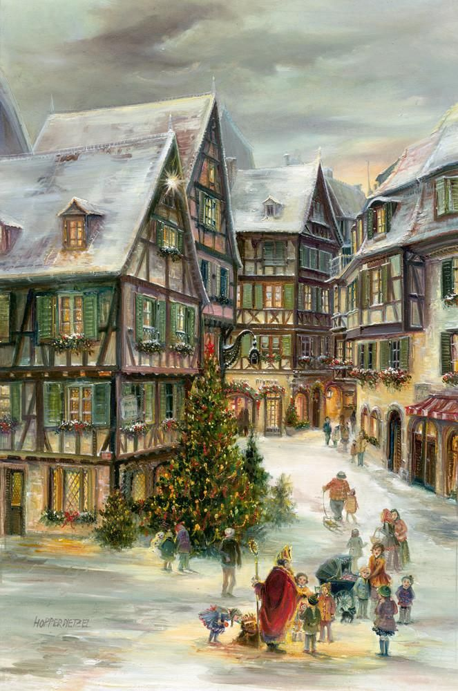 Colmar, Alsace, Advent Calendar