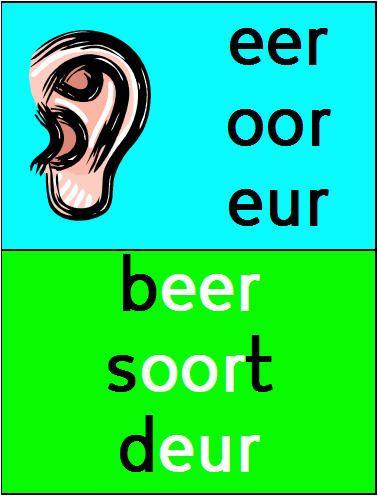 Interactieve plaat eer oor eur TOUCH this image by Judy Goedhart