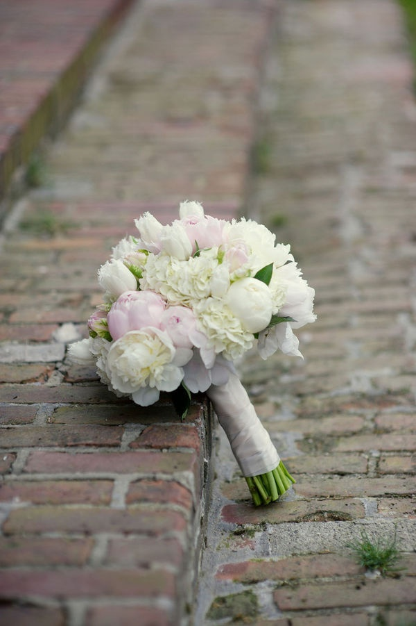 Classically beautiful without being stuffy.  Peonies, hydrangea, tulips
