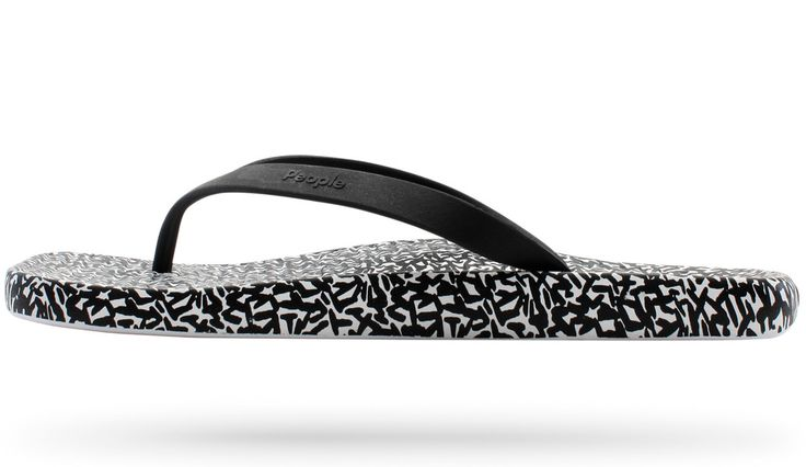 People Footwear — The Yoko: Black Rice Print