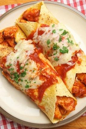 Chicken Enchiladas.... yummy yummy yummy in my tummy