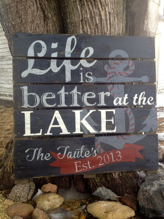 Custom Hand Painted Repurposed Pallet by soulshineliving on Etsy, $75.00
