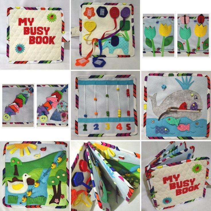 Libro tranquila para los niños por BiddyBeeCraft en Etsy