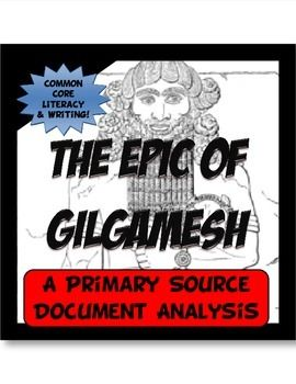The Epic of Gilgamesh Common Core Writing and Literacy Primary Resources. Student centered activities, worksheets, & printables.