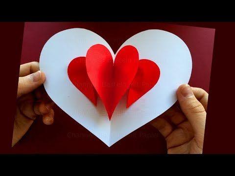 3D Kalp Kartı. ❤ - YouTube