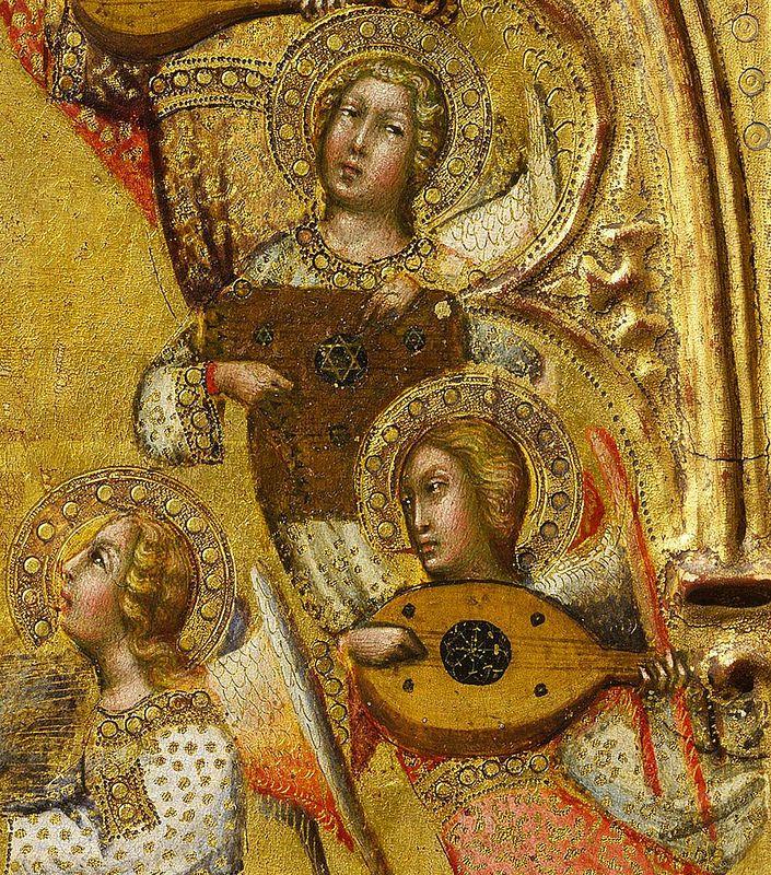 "http://gorbutovich.livejournal.com/134230.html Фрагмент ""Вознесения Девы Марии…"" из Национальной галереи."