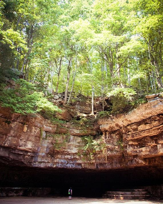 Dunbar Cave, TN--great place for a run!