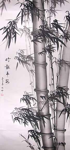 chinese art | Chinese Paintings. Chinese Bamboo Paintings at The Gallery of China