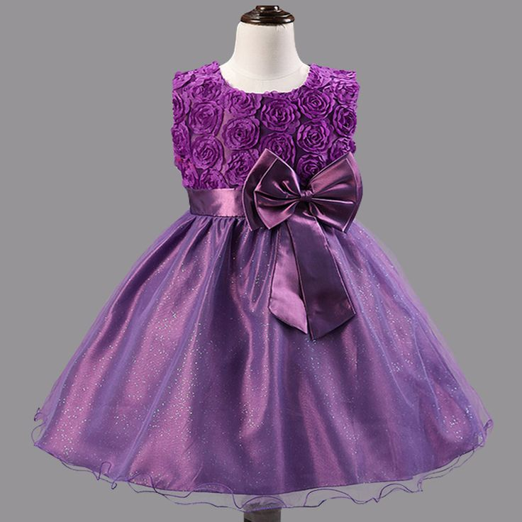 Flower Girl Dresses For Weddings Girls Pageant Dresses For Little Girls Wedding Dress Kids Evening Gowns Baby Party Frocks
