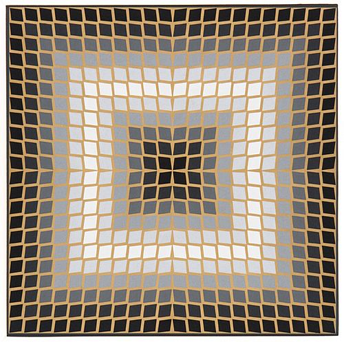 Quasar Dia, 1965 Style: Op Art Genre: abstract painting