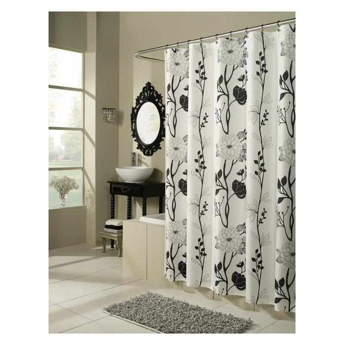 Cassandra Shower Curtain Fabric CurtainsLong