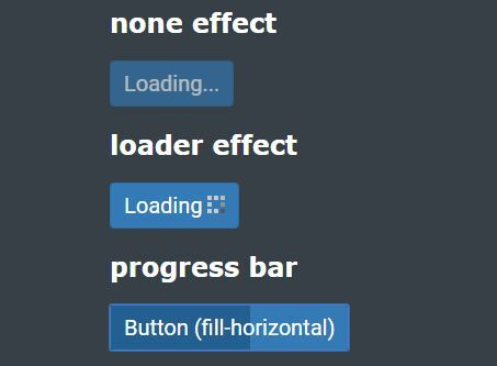 LoadingStateButtons is a lightweight jQuery button loader plugin which adds loading spinner or progress indicator to buttons while loading some data for user feedback.
