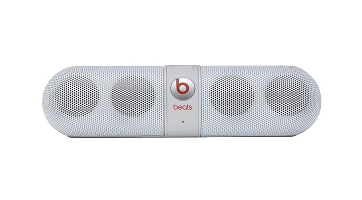 Beats Pill Speaker Portable. White portable speaker is a must if you love to hear a music, this beats portable speaker allow you to carry it everywhere, with white color, super hype speaker that will bring fun to everyone. http://www.zocko.com/z/JEbb4