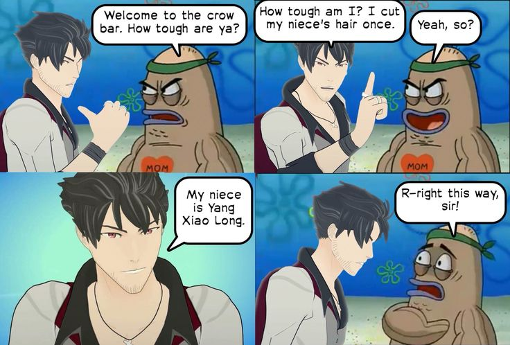 Qrow going to the Crow bar