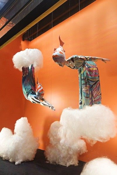 Selfridges Window Display | Surrealism Ah, the magic of monofilament #windowsmatter