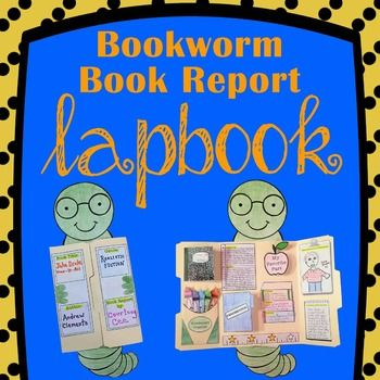 Turn any kid into a bookworm with this fun and academic Book Report Lap Book.Students will easily create the lapbook shown in the picture by using our simple instructions and handouts.The interactive templates and foldables contained in this product can be used with any novel.
