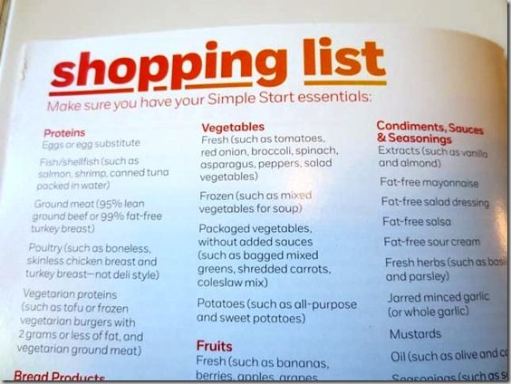 Weight Watchers Simple Start from http://danicasdaily.com/weight-watchers-simple-start-program/