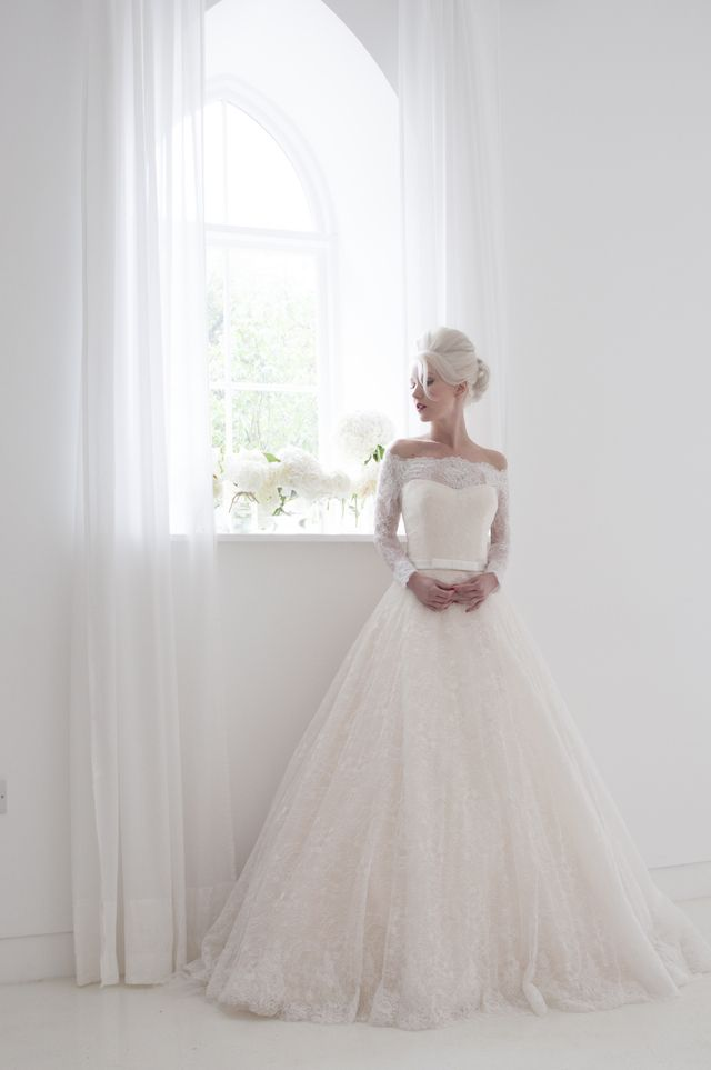 House of Mooshki 2015 Wedding Dress Collection | see more on: http://burnettsboards.com/2014/07/house-mooshki-coming-stateside/