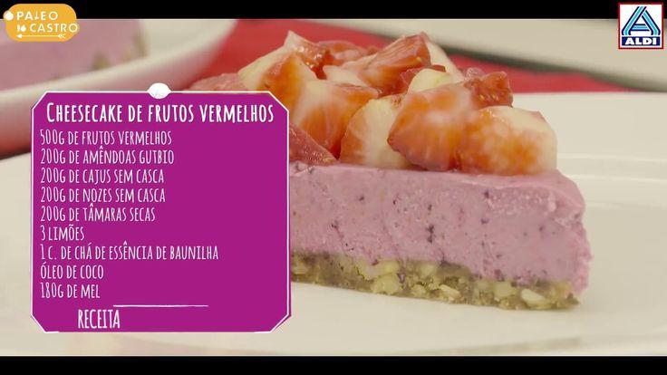 Cheesecake de frutos vermelhos by aldi youtube