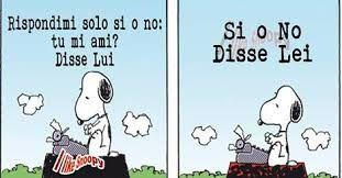 Snoopy: Si o No!