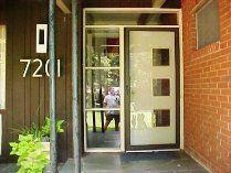 modern charlotte - cool retro door