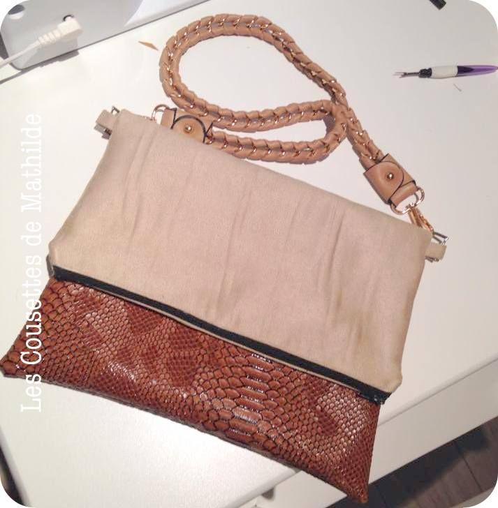 1000 id es sur le th me sac bandouliere femme sur pinterest tissu coton sac bandouli re femme - Tuto pochette bandouliere ...