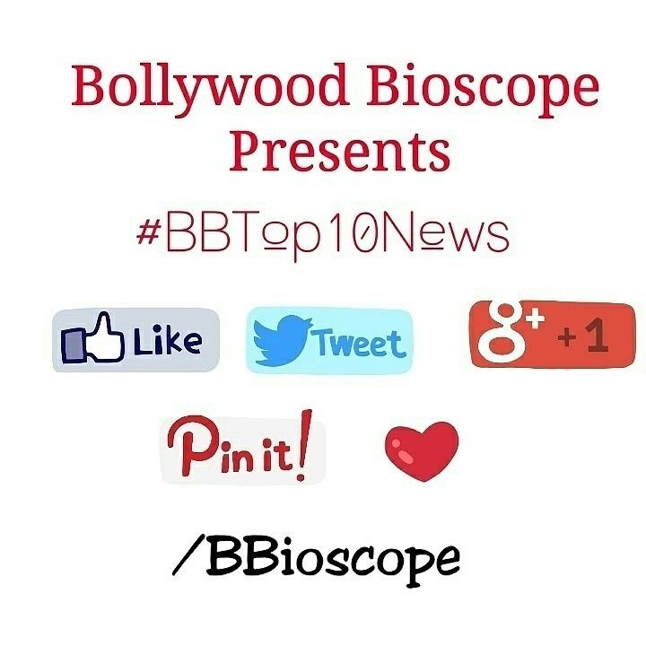 #BBTop10News 1.Singer Sukhwinder Singh to do a cameo in Yash Raj film's 'Kill Dil' after Ranveer Singh suggested his name.  2.Sonali Bendre has been roped in to feature in Ekta Kapoor's upcoming daily soap.  3.Randeep Hooda has been roped in for Deepa Mehta's next titled 'Inland'.  4.'The Xpose' director Ananth Mahadevan has approached Vidya Balan to play the lead in his biopic on India's first lady doctor Rakmabai.  5.Karan Johar signs Mohit Suri for the remake of French comedy drama 'The…