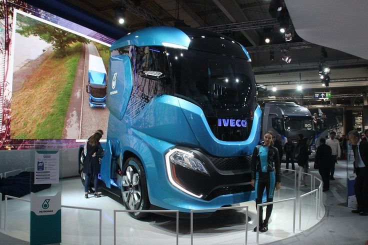 The future according to Iveco. If you like Iveco's from the past more, then have a look at