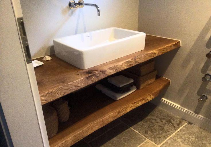 die besten 17 ideen zu waschtischplatte holz auf pinterest. Black Bedroom Furniture Sets. Home Design Ideas