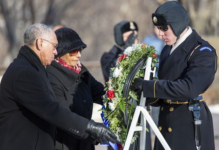 NASA Administrator Charles Bolden and his wife Alexis lay a wreath at Arlington National Cemetery photo by Joel Kowsky via NASA Today NASA observes its Day of Remembrance, a day to honor people who...