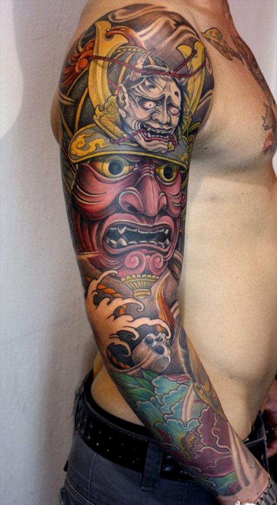 Tattoo inspiration #oriental #japanese #samurai