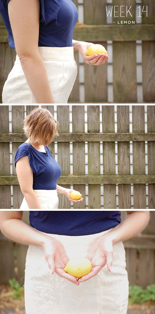 week 14 :::lemon, document pregnancy, bump, pregnant, weekly bump