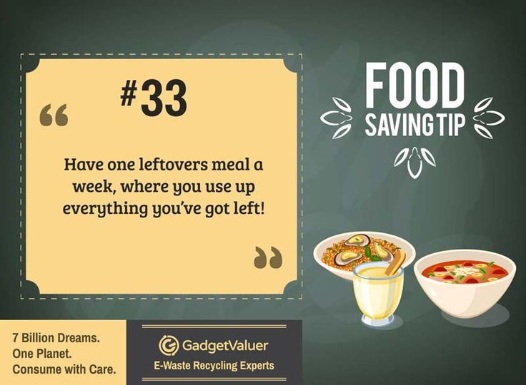 Food Saving Tip 33 | 150+ Sustainability Resources | #WED2015 #7BillionDreams #Sustainability