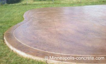 Stained Concrete Patio Patterns | Home Design and Decor Reviews