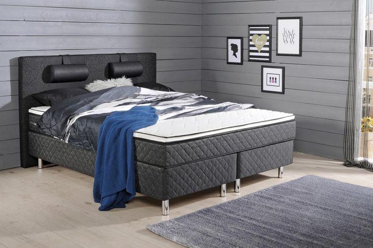 JONNA jenkkisänky 160×200 cm ilman sijauspatjaa Makuuhuone, sängyt Pinterest