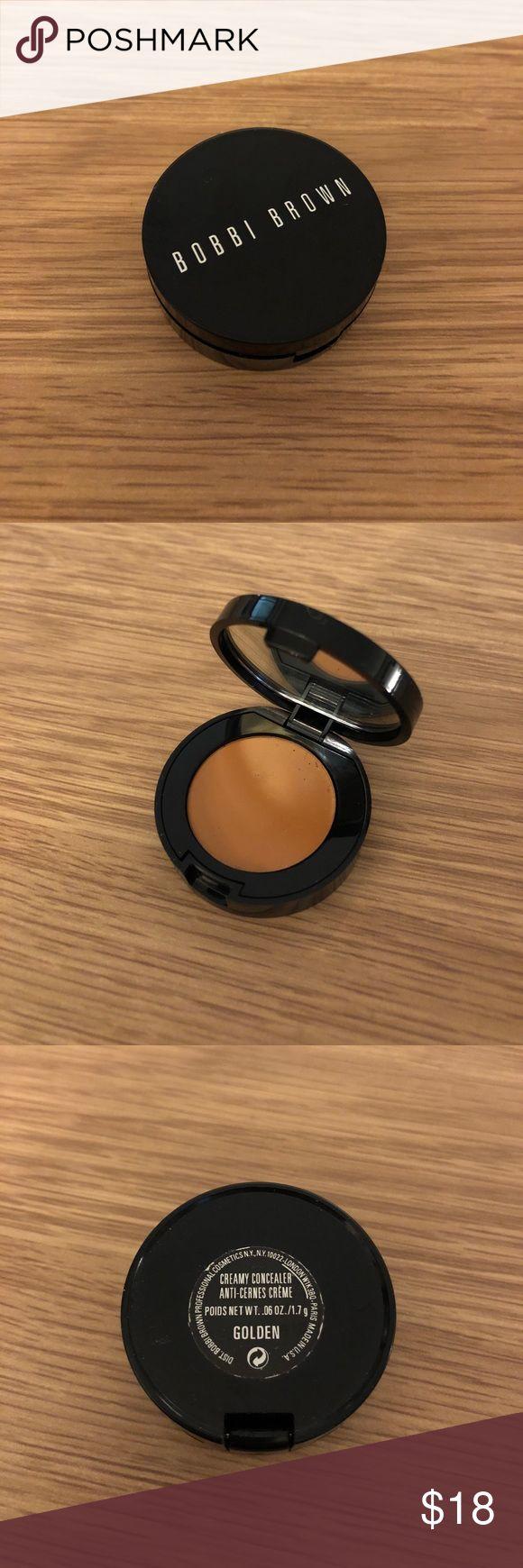 """Bobbi Brown creamy concealer Bobbi Brown concealer in color """"Golden"""". Not used, no box. Bobbi Brown Makeup Concealer"""