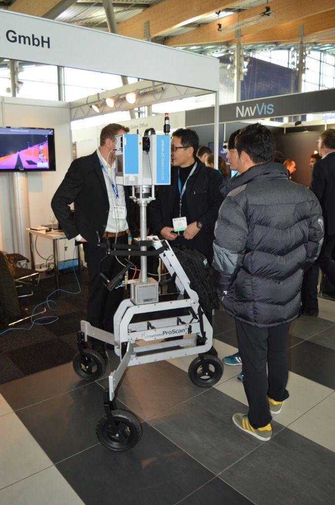 ELMF 2014 Trollei per scansione laser
