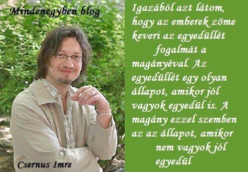 Dr. Csernus Imre...his opinion over the rainbow