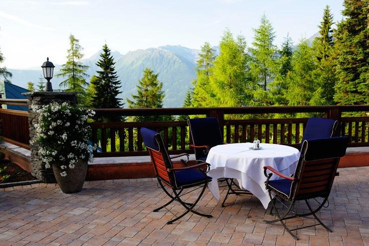 Begehrte Frühstücksplätze im Sommer