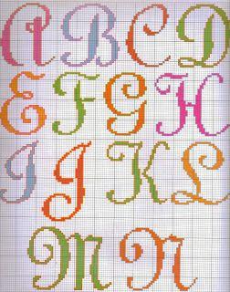 Ângela Bordados: Letrinhas para uma sopinha de idéias para nossos bordados rsrsrss
